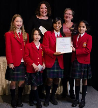 SMS Blog: Young philanthropists honoured | St  Margaret's School